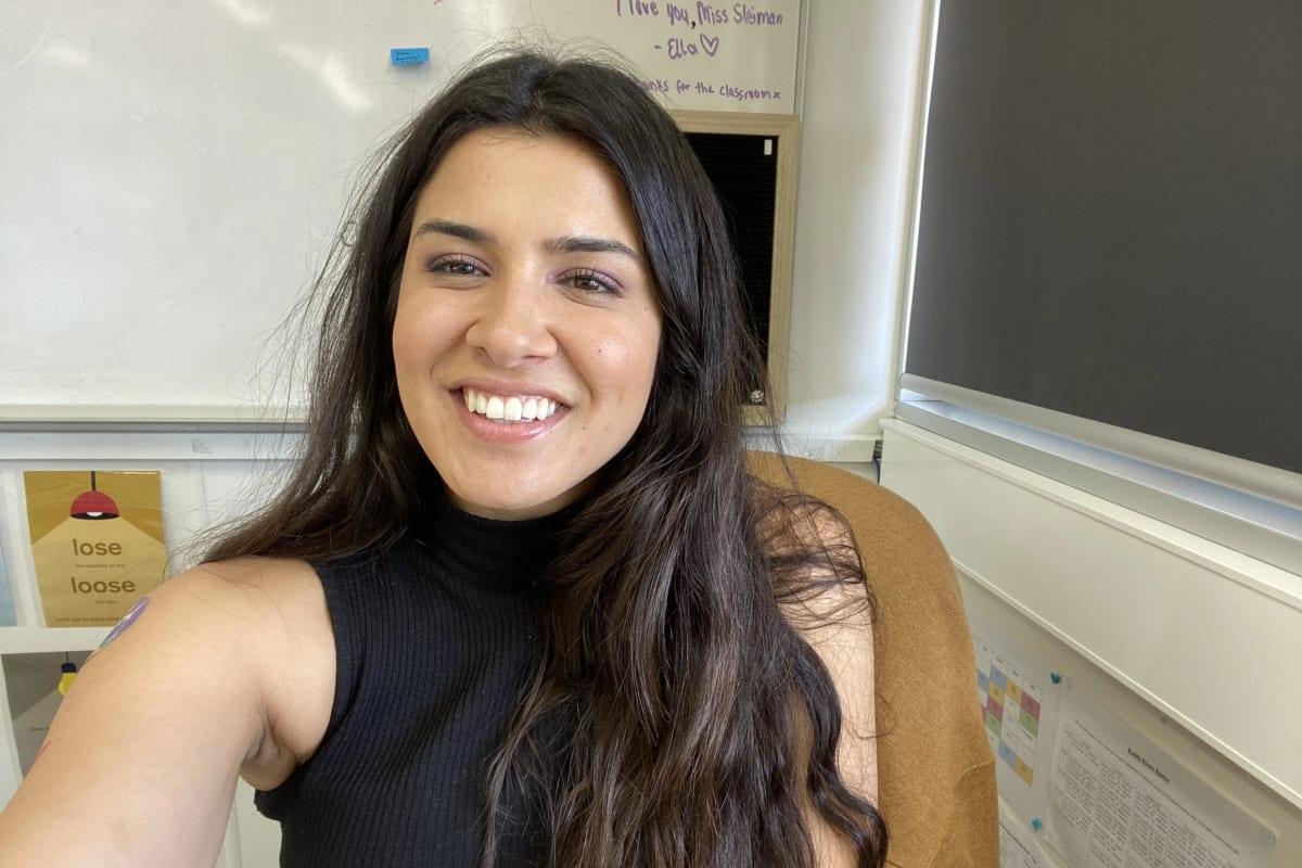 Sarah Sleiman (29), $200,