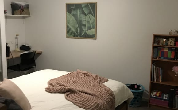 Unfurnished room with ensuite in a flatshare