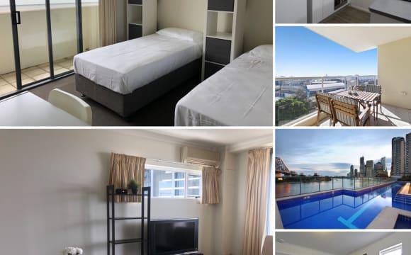 Shared Room for Rent in Boundary Street, Brisbane City, B…