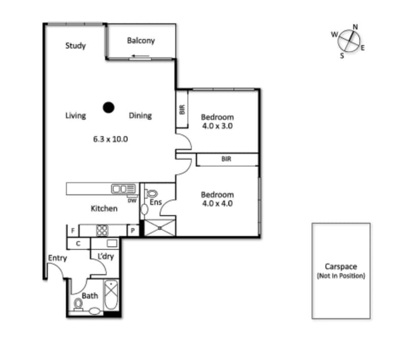 $300, Flatshare, 2 bathrooms, Kavanagh Street, Southbank VIC 3006