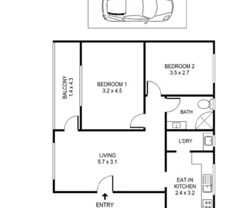 $420, Whole-property, 2 bathrooms, Ashfield NSW 2131
