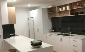Unfurnished room with own bathroom