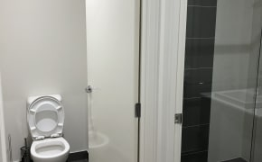 Room with own bathroom
