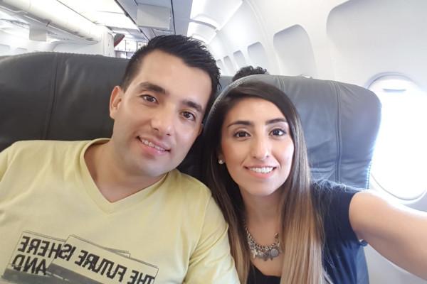 Laura (32) and Felipe (29), $300,