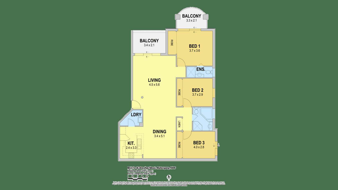 $150, Flatshare, 3 bathrooms, Loftus Street, Wollongong NSW 2500