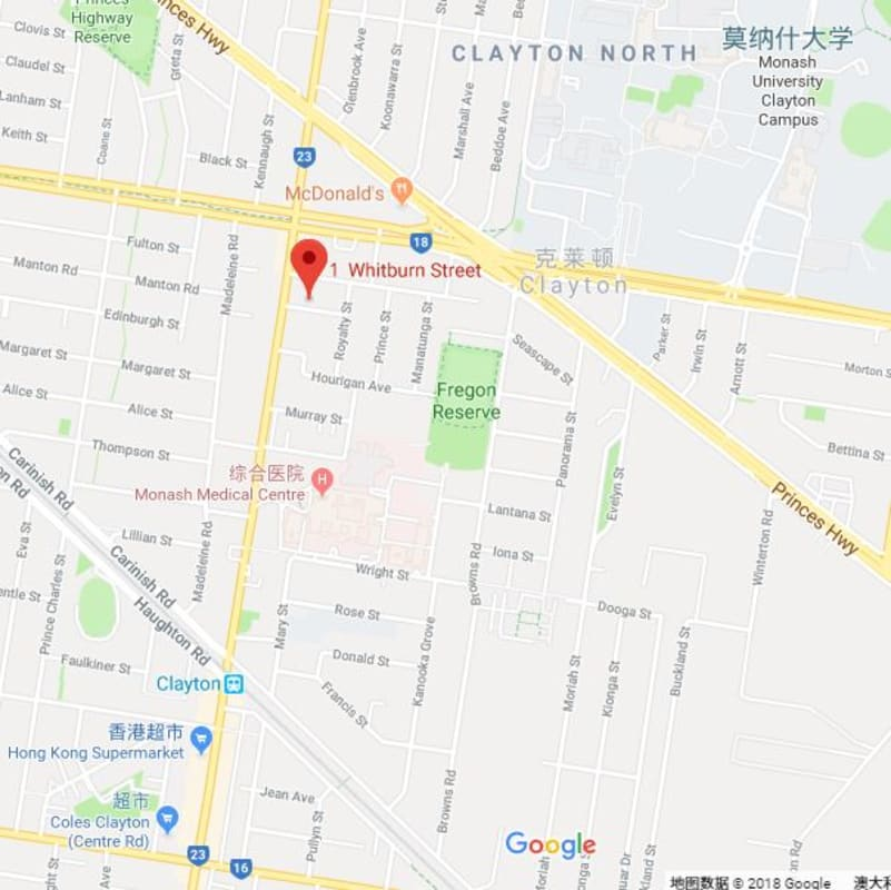 $135, Share-house, 4 bathrooms, Whitburn Street, Clayton VIC 3168