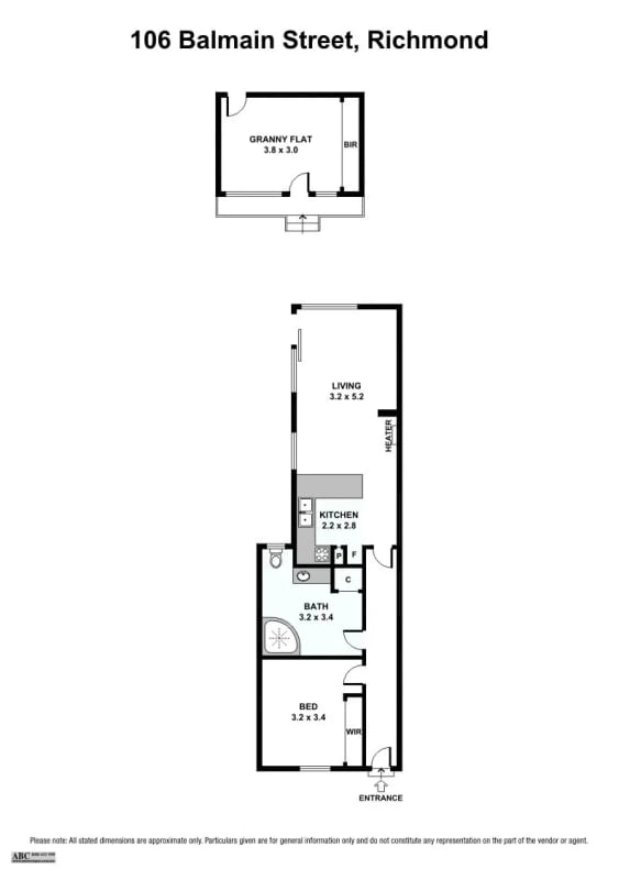 $240, Share-house, 2 bathrooms, Balmain Street, Cremorne VIC 3121