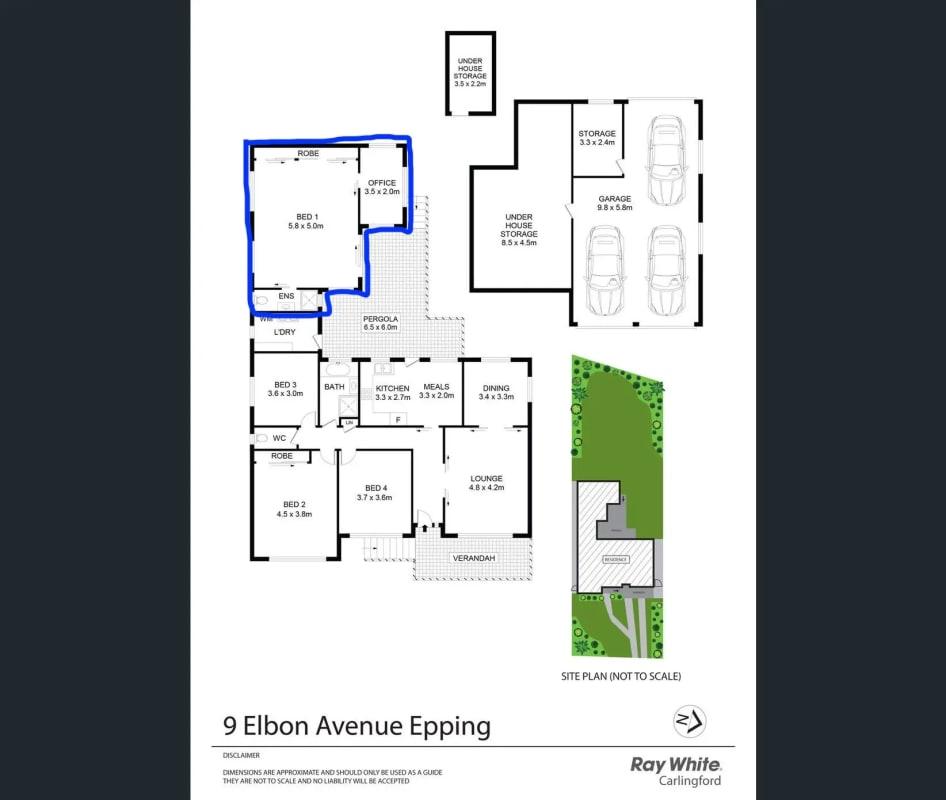 $350, Share-house, 3 bathrooms, Elbon Avenue, Epping NSW 2121