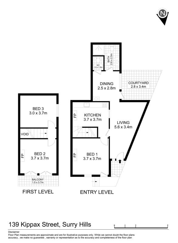 $330, Share-house, 3 bathrooms, Kippax Street, Surry Hills NSW 2010