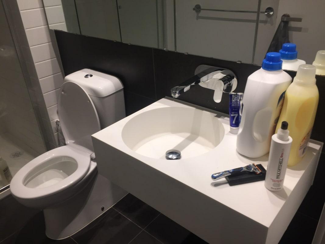 $110, Flatshare, 2 bathrooms, Rose Lane, Melbourne VIC 3000