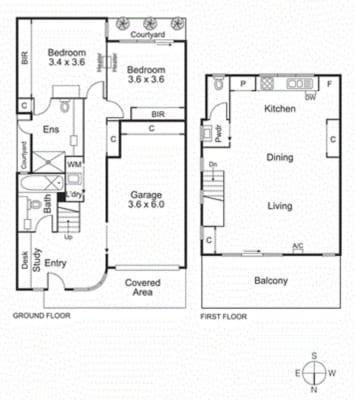 $460, Share-house, 2 bathrooms, Norma Barnett Lane, Port Melbourne VIC 3207