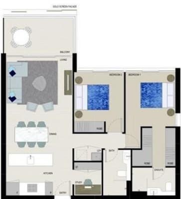 $280, Flatshare, 2 bathrooms, Burroway Road, Sydney Olympic Park NSW 2127