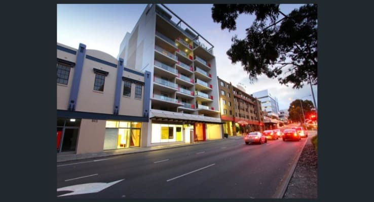 $380, 1-bed, 1 bathroom, Wellington Street, West Perth WA 6005