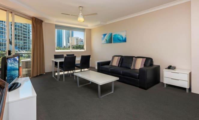 $140, Studio, 1 bathroom, Paradise Island, Surfers Paradise QLD 4217
