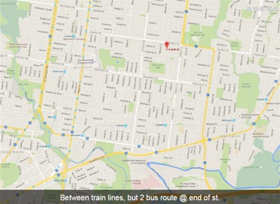 $166, Share-house, 4 bathrooms, Swift Street, Northcote VIC 3070