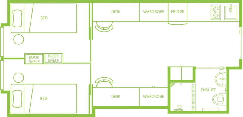 $289, Student-accommodation, 2 bathrooms, North Terrace, Adelaide SA 5000