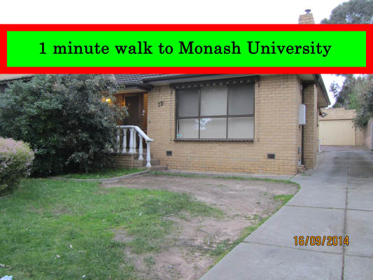 $190, Share-house, 5 bathrooms, Arnott St, Clayton VIC 3168