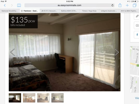 $135, Share-house, 6 bathrooms, Roncliffe Road, Highton VIC 3216