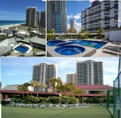 $165, Flatshare, 2 bathrooms, Orchid Avenue, Surfers Paradise QLD 4217
