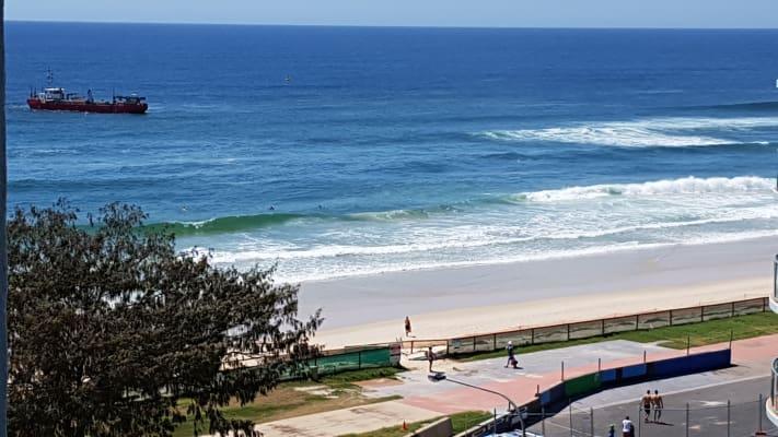 $260, Flatshare, 2 bathrooms, Main Beach Parade, Main Beach QLD 4217