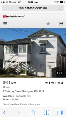 $215, Share-house, 3 bathrooms, Murray Street, Sandgate QLD 4017