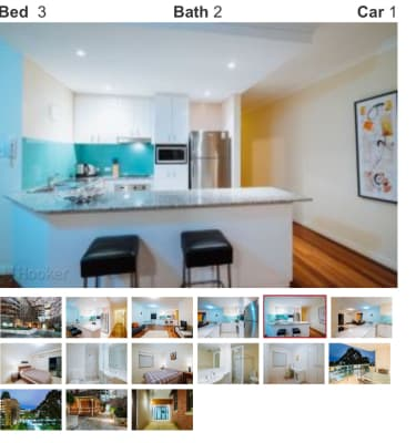 $250, Flatshare, 2 bathrooms, Kings Park Road, West Perth WA 6005