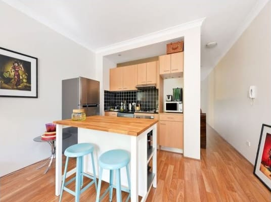 $540, 1-bed, 1 bathroom, Chalmers Street, Surry Hills NSW 2010