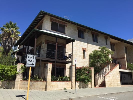 $175, Flatshare, 3 bathrooms, Clive Street, West Perth WA 6005