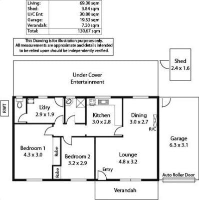 $300, Whole-property, 2 bathrooms, Raggatt Crescent, Mitchell Park SA 5043