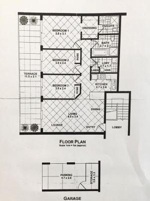 $340, Flatshare, 3 bathrooms, Brougham Street, Woolloomooloo NSW 2011
