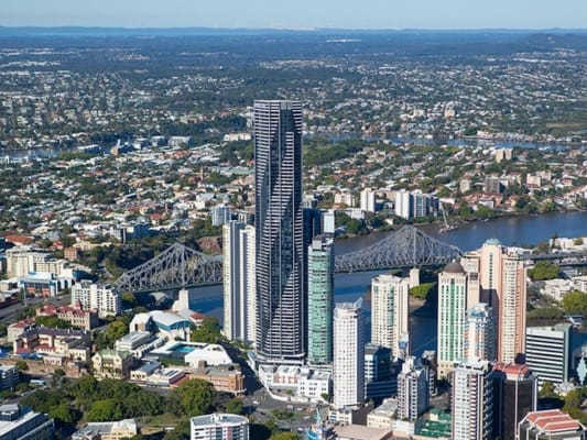 $155, Flatshare, 3 bathrooms, Adelaide Street, Brisbane City QLD 4000