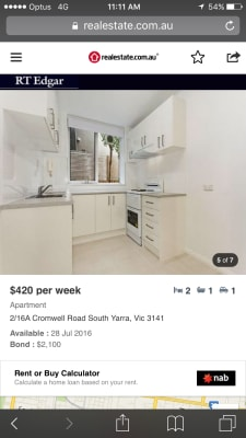 $210, Share-house, 2 bathrooms, Cromwell Road, South Yarra VIC 3141