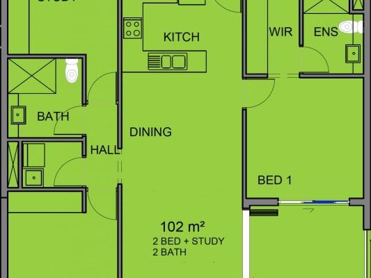 $320, Flatshare, 2 bathrooms, Cavenagh Street, Darwin City NT 0800