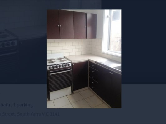 $217, Flatshare, 2 bathrooms, Pasley Street, South Yarra VIC 3141