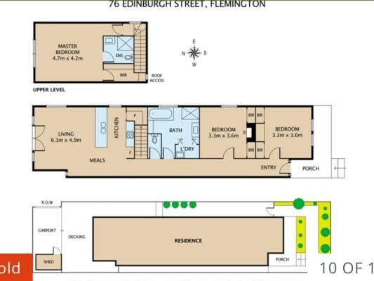 $174, Share-house, 3 bathrooms, Edinburgh, Flemington VIC 3031