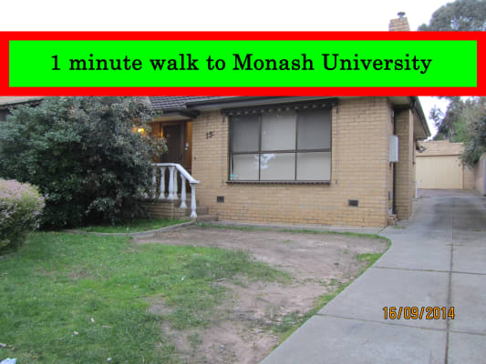 $150, Share-house, 5 bathrooms, Arnott Street, Clayton VIC 3168