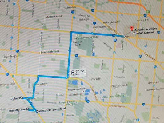 $190, Share-house, 4 bathrooms, Royalty Ave, Highett VIC 3190