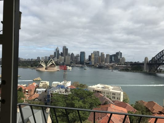 $550, Flatshare, 2 bathrooms, Upper Pitt Street, Kirribilli NSW 2061