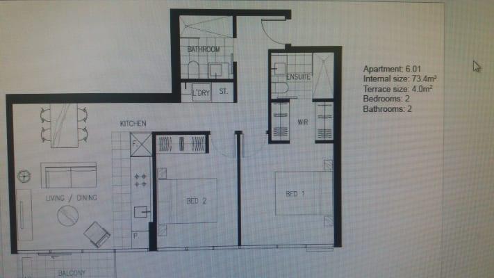 $450, Whole-property, 2 bathrooms, Flemington Road, North Melbourne VIC 3051