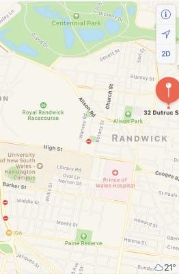 $220, Flatshare, 3 bathrooms, Dutruc Street, Randwick NSW 2031