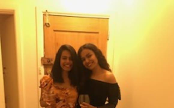 Amanda Mendes & Ninoshka Serrao