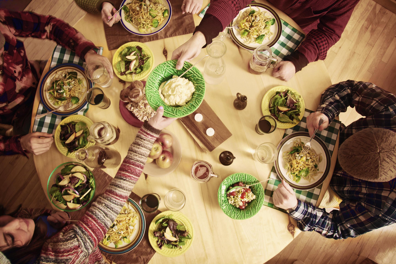 flatmates dinner