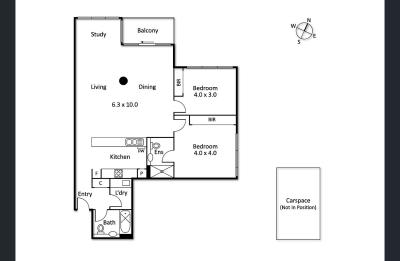 Share House - Melbourne, Southbank $400