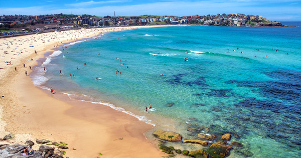 No Top Beaches List Would Be Complete Without The World Famous Bondi With Crystal Clear Waters And A Long Soft Sand Beach Bookended By Rocky Points